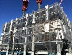 新築ビル電気設備工事